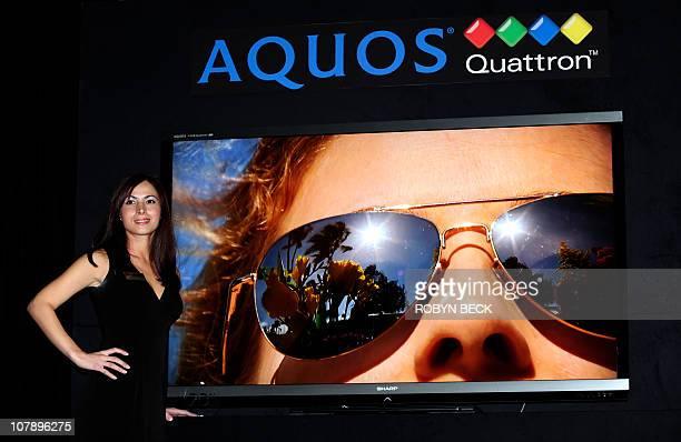 31 Sharp Aquos Quattron Pictures, Photos & Images - Getty Images