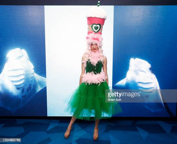 A model poses during NYFW Powered By hiTechMODA on February 08 2020 in New York City