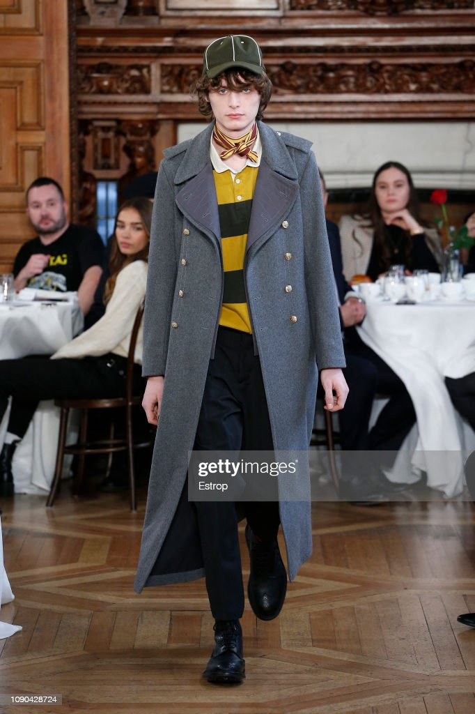 Kent & Curwen - Presentation - LFWM January 2019 : ニュース写真