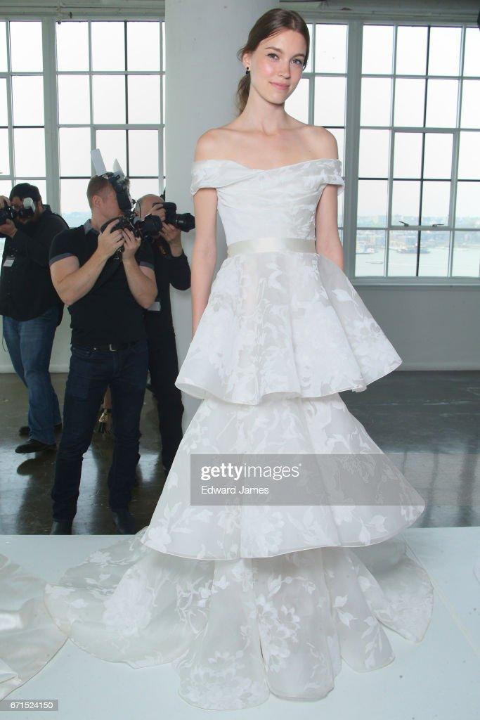Marchesa - Presentation - New York Fashion Week: Bridal April 2017 : News Photo