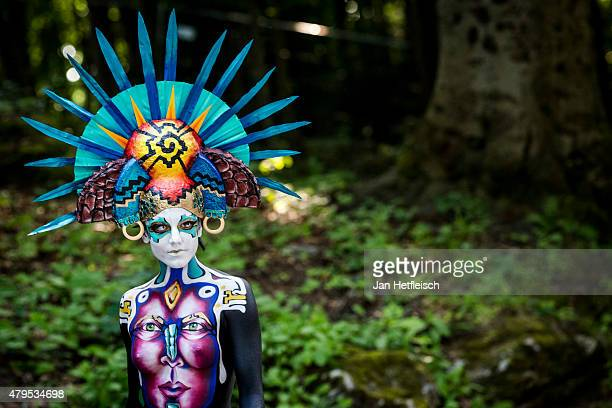 World S Best Body Paint Stock Pictures Photos And Images