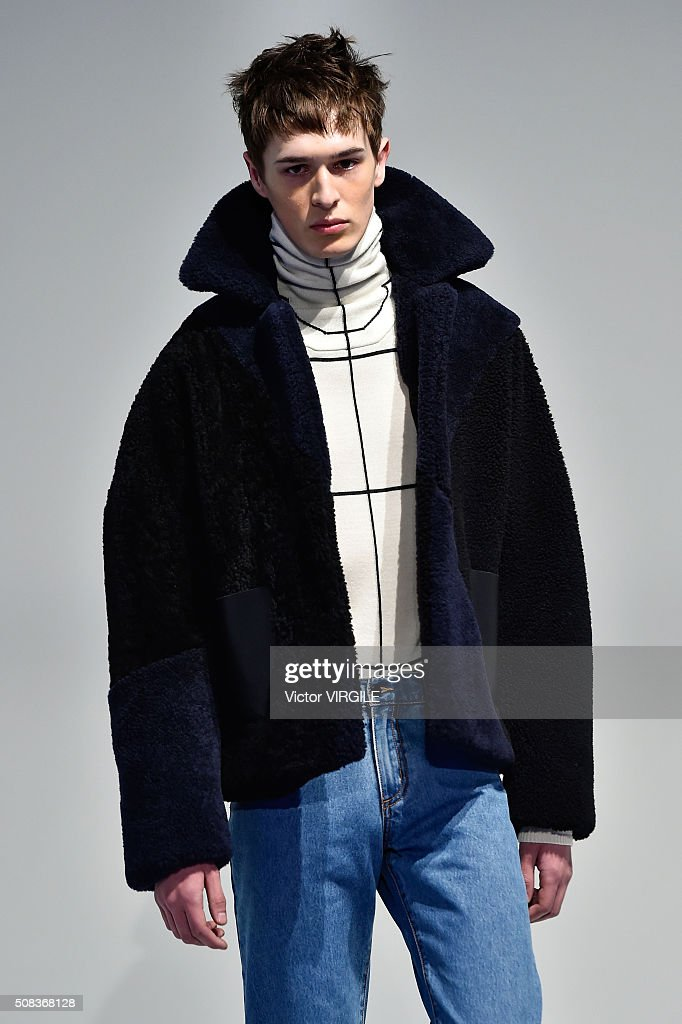 Edmund Ooi - Presentation - New York Fashion Week Men's Fall/Winter 2016 : News Photo