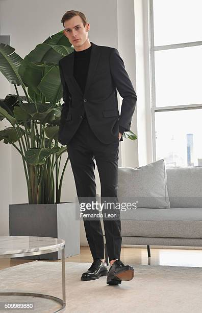 7ea3b93a69f0b A model poses for pictures at the Paul Andrew Presentation during Fall 2016  New York Fashion