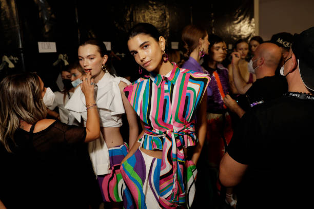 ITA: Shi.rt by Aquilano E Rimondi - Backstage - Milan Fashion Week - Spring / Summer 2022
