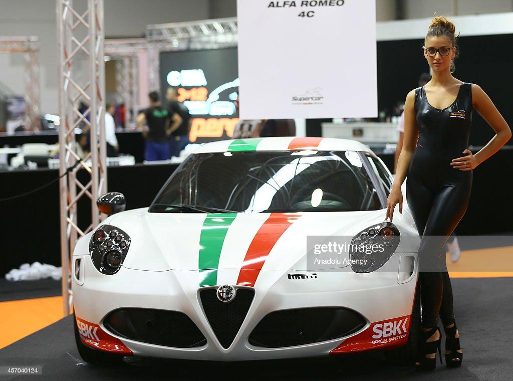 Supercar Rome Auto Show 2014 : News Photo
