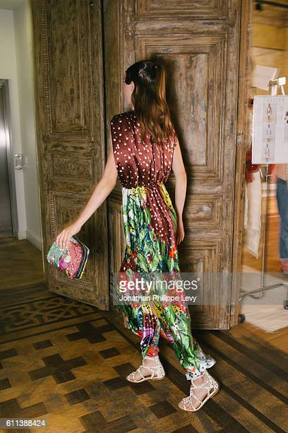 Presentation as part of the Paris Fashion Week Womenswear Spring/Summer 2017 on September 29 2016 in Paris France