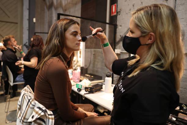 AUS: Aqua Blu - Backstage - Afterpay Australian Fashion Week 2021