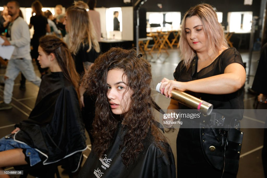 NZL: Kiri Nathan - Backstage - New Zealand Fashion Week 2018