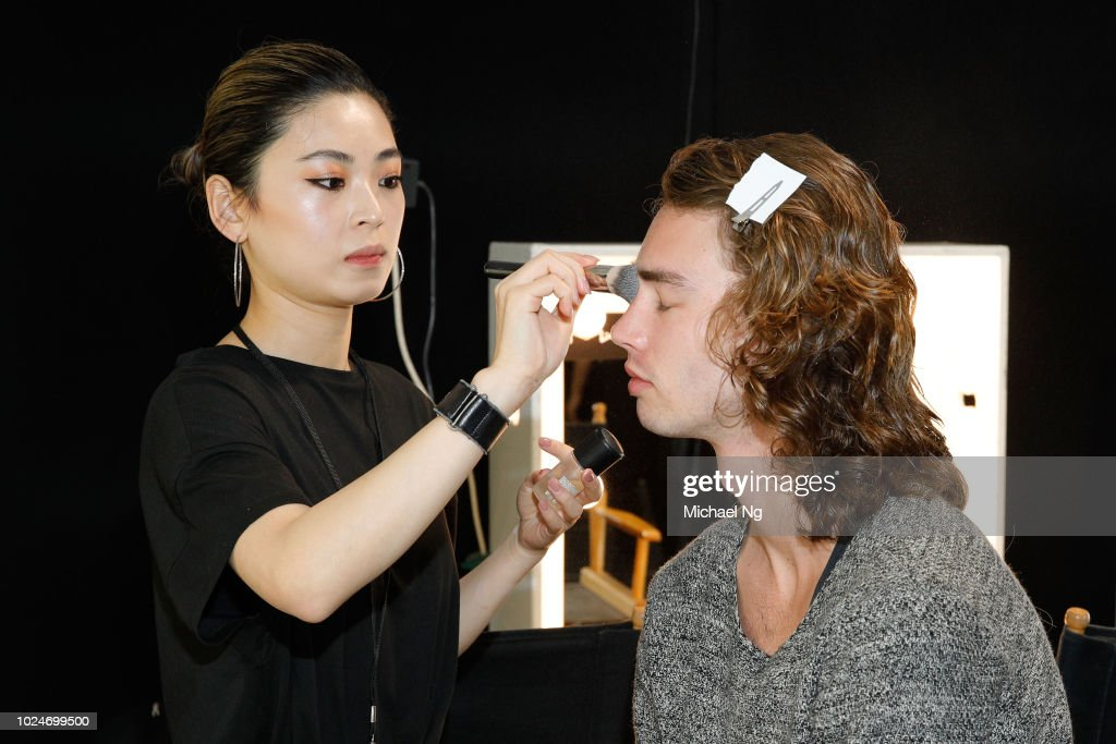 NZL: Ryan Turner Contemporary Salon - Backstage - New Zealand Fashion Week 2018