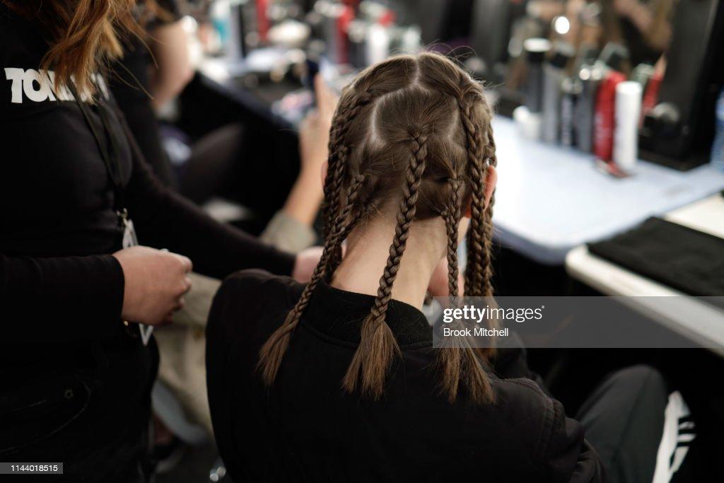 St.George NextGen - Backstage - Mercedes-Benz Fashion Week Australia 2019 : News Photo