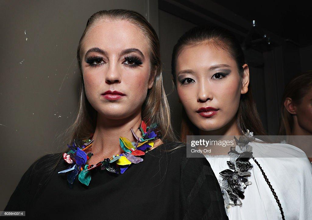 NY: Tahor Group - Backstage - September 2016 - New York Fashion Week