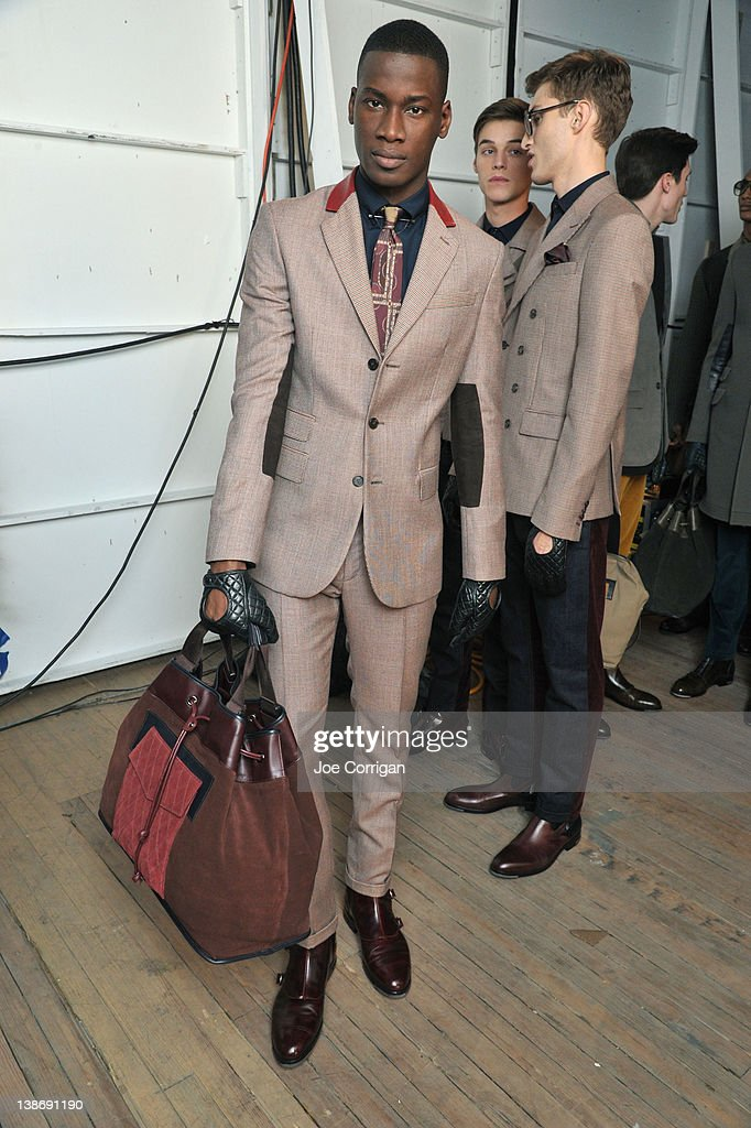 630565e3098986 Tommy Hilfiger Men s - Backstage - Fall 2012 Mercedes-Benz Fashion Week    News Photo