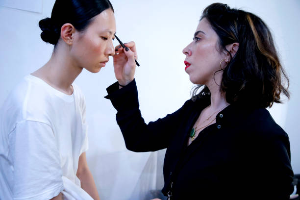 NY: Chocheng - Backstage - September 2019 - New York Fashion Week: The Shows