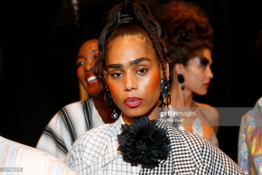 Christopher John Rogers - Backstage - September 2019 - New York Fashion Week: The Shows : News Photo