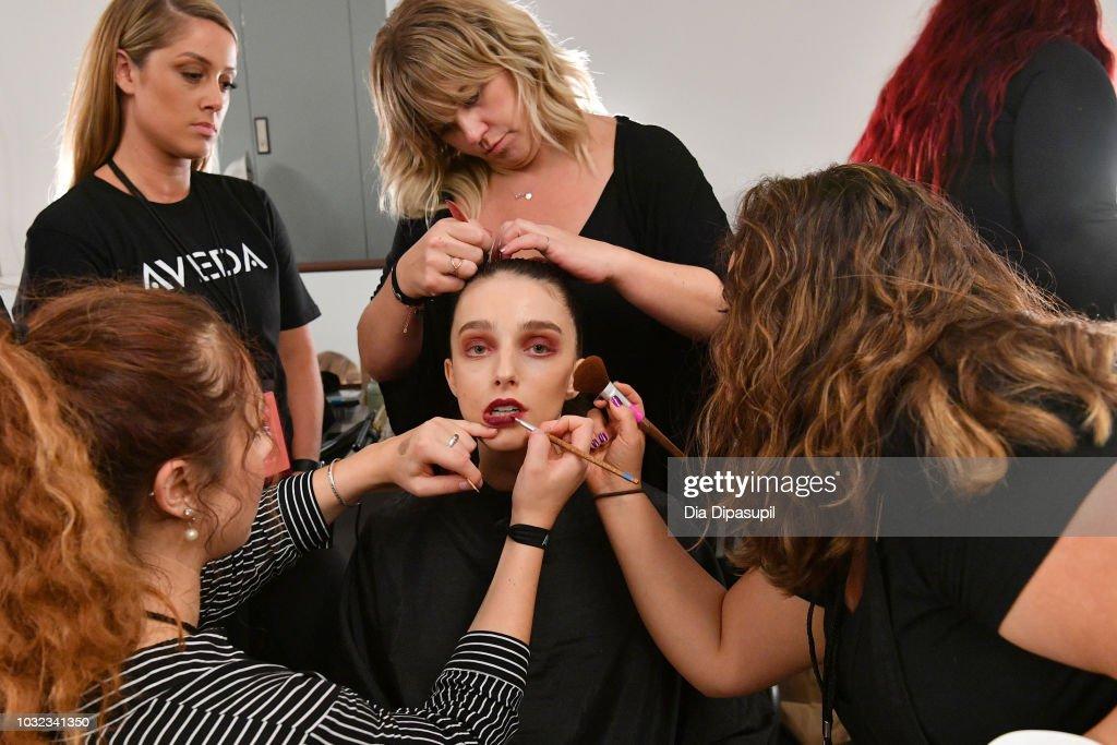 NY: Dakun Liu Yong - Backstage - September 2018 - New York Fashion Week: The Shows