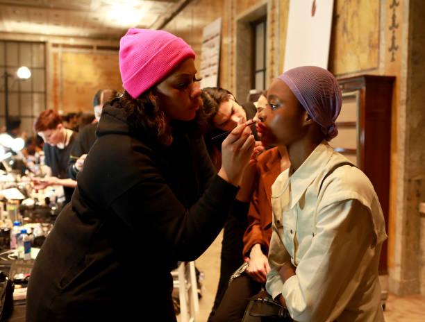NY: Oscar De La Renta - Backstage - February 2020 - New York Fashion Week