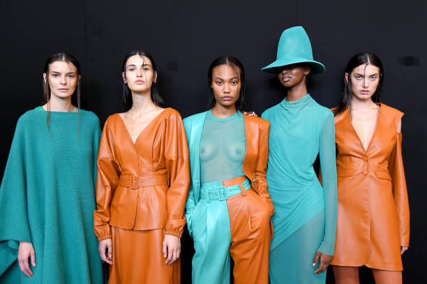 NY: Sally LaPointe - Backstage - September 2019 - New York Fashion Week: The Shows