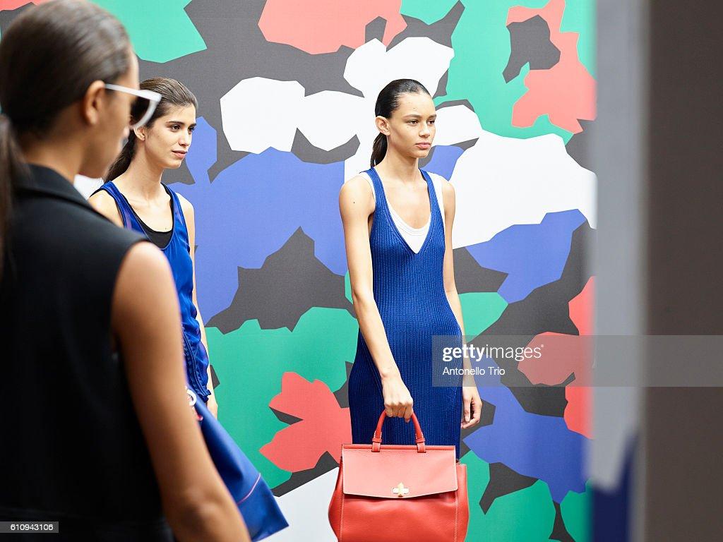 NY: Boss Womenswear - Backstage - September 2016 - New York Fashion Week