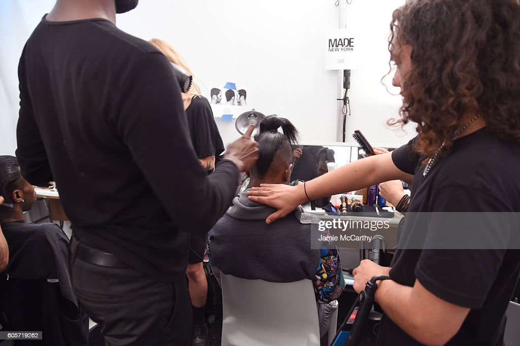 NY: Luar - Backstage - September 2016 - MADE Fashion Week