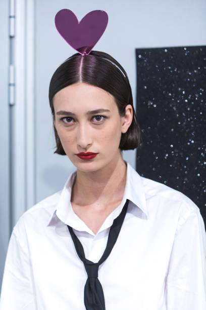 ESP: Backstage - Day 1 - Mercedes Benz Fashion Week Madrid - September 2021