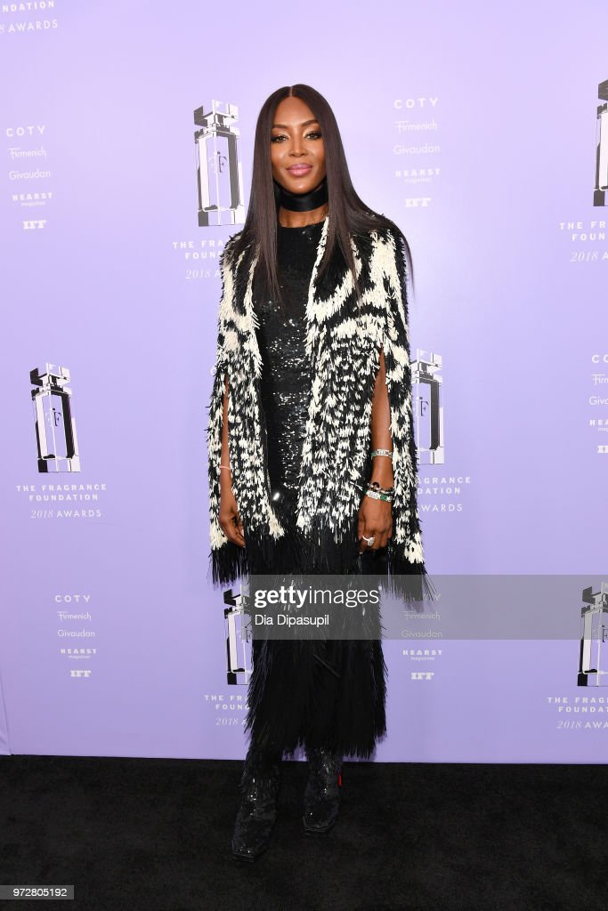 Model, Presenter Naomi Campbell attends 2018 Fragrance Foundation Awards at Alice Tully Hall at Lincoln Center on June 12, 2018 in New York City.