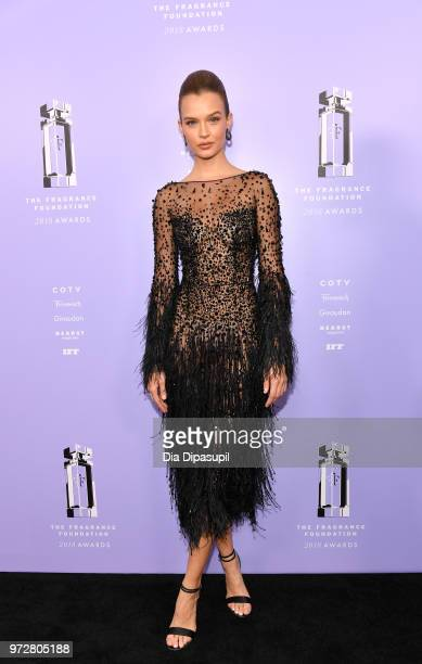 Model PresenterJosephine Skriver attends 2018 Fragrance Foundation Awards at Alice Tully Hall at Lincoln Center on June 12 2018 in New York City