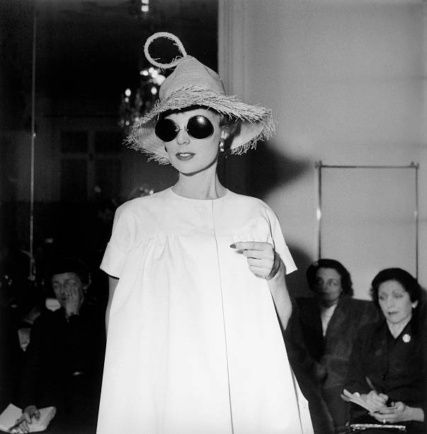 Presentation Of The Collection Bt Jacques Fath In 1954