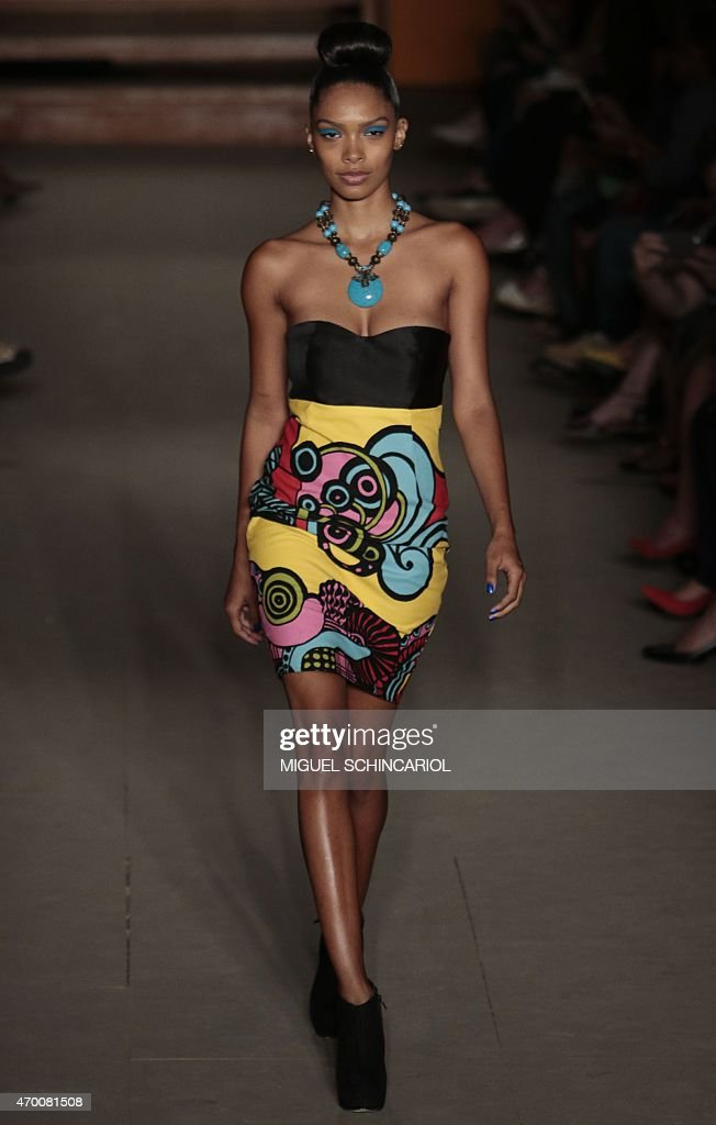 FASHION-BRAZIL-SAO PAULO FASHION WEEK-AFRICAN : News Photo