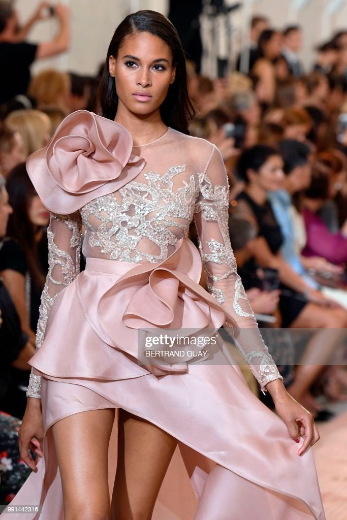 FRA: Elie Saab : Runway - Paris Fashion Week - Haute Couture Fall Winter 2018/2019