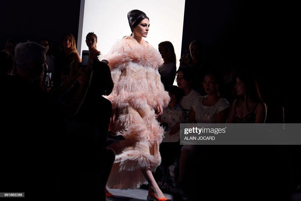 FRA: Fendi Couture : Runway - Paris Fashion Week - Haute Couture Fall Winter 2018/2019