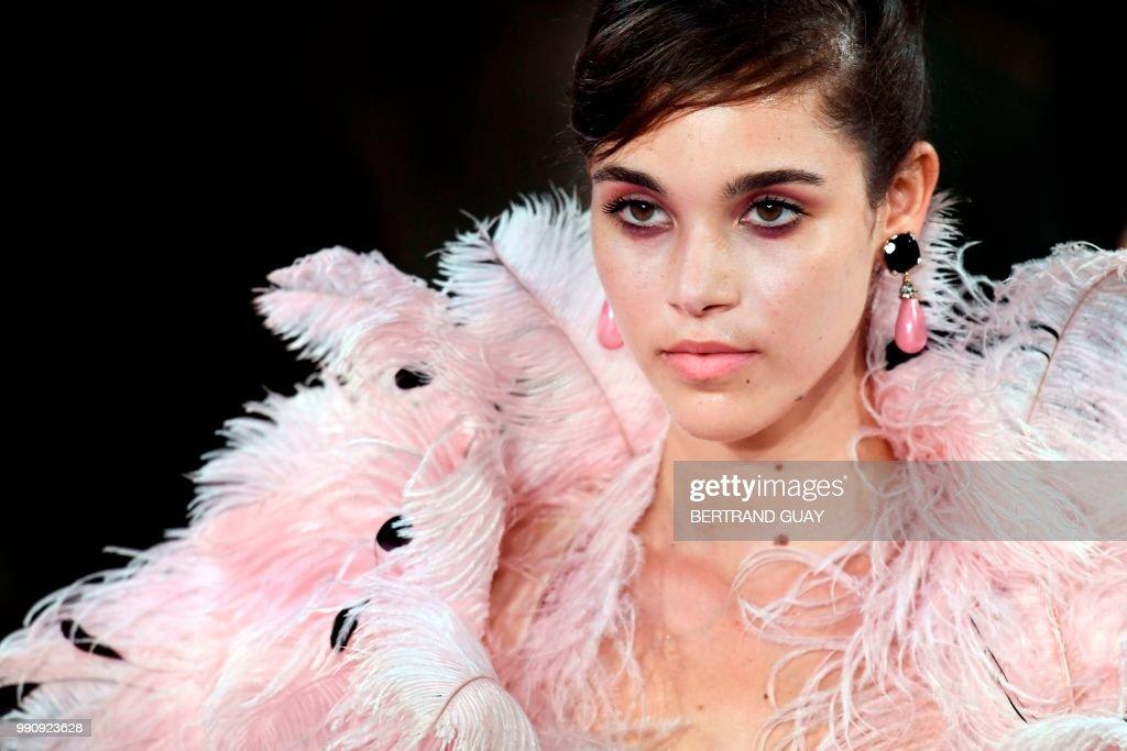 FRA: Giorgio Armani Prive : Runway - Paris Fashion Week - Haute Couture Fall Winter 2018/2019