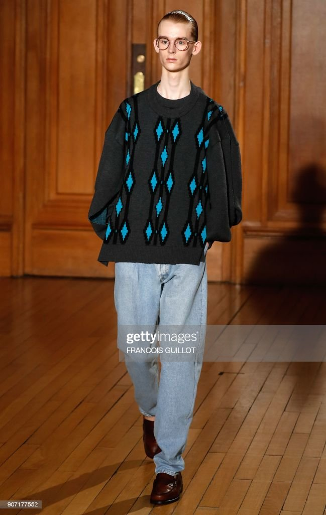 Hed Mayner : Runway - Paris Fashion Week - Menswear F/W 2018-2019