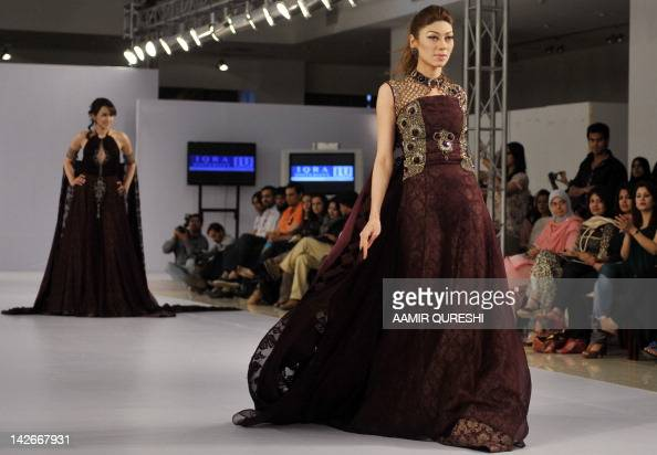 A Model Presents A Creation By Iqra University On The Second Day Of News Photo Getty Images