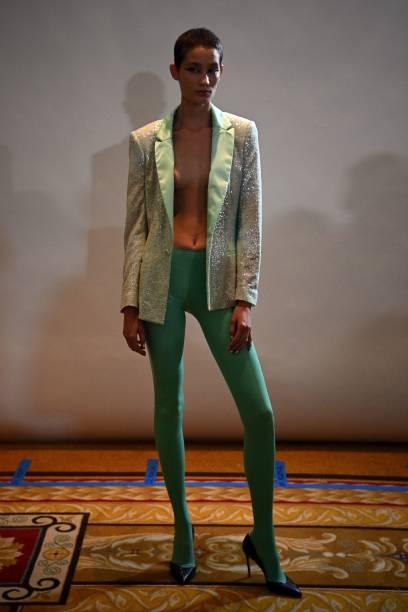 FRA: Koche : Runway - Paris Fashion Week - Womenswear Spring Summer 2022