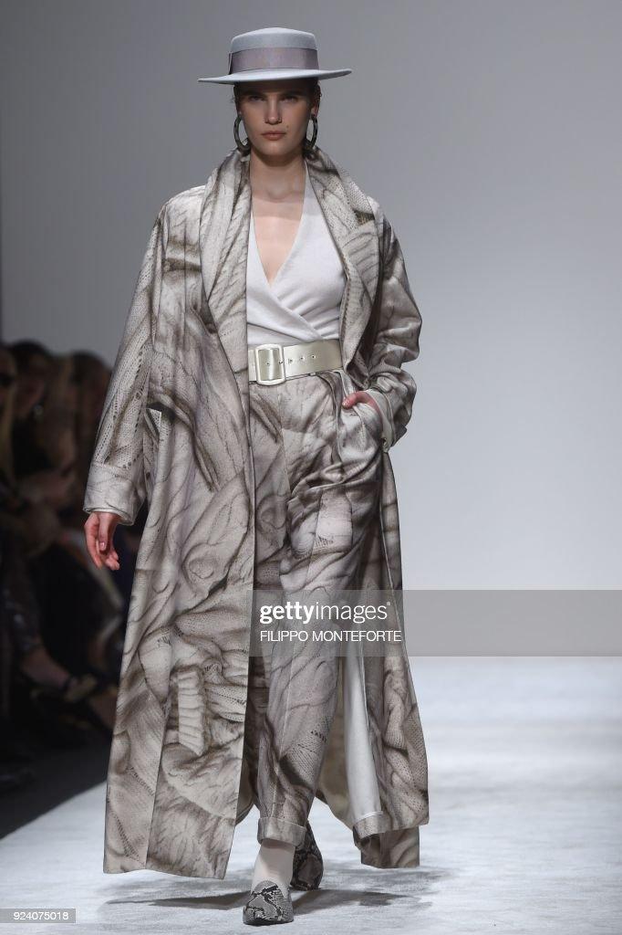 Laura Biagiotti - Runway - Milan Fashion Week Fall/Winter 2018/19