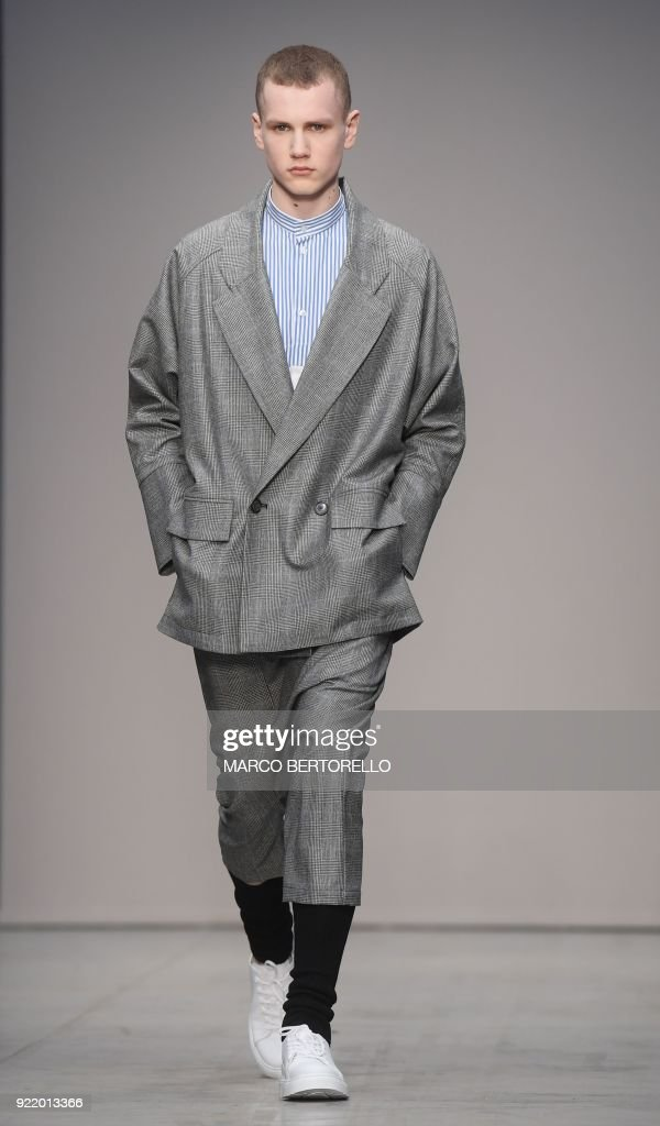 FASHION-ITALY-LUCIO VANOTTI : News Photo