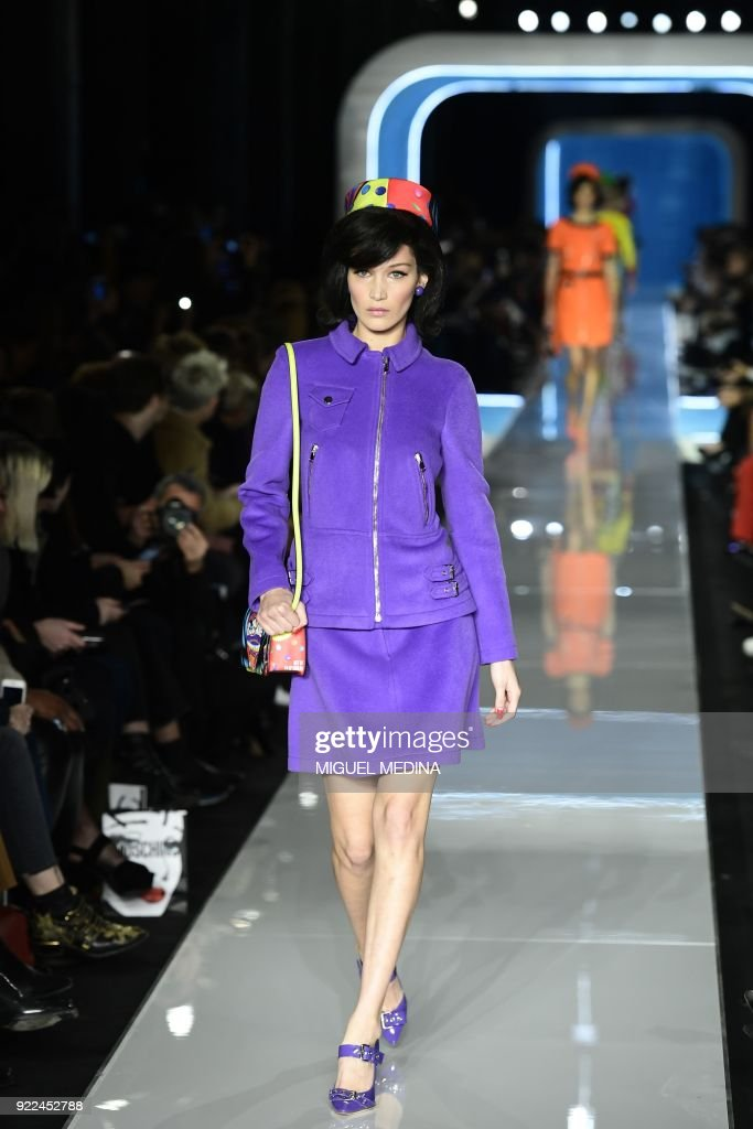 FASHION-ITALY-MOSCHINO : News Photo
