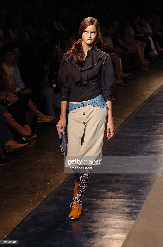 Sao Paulo Fashion Week Fall/Winter 2005 - Patachou : News Photo