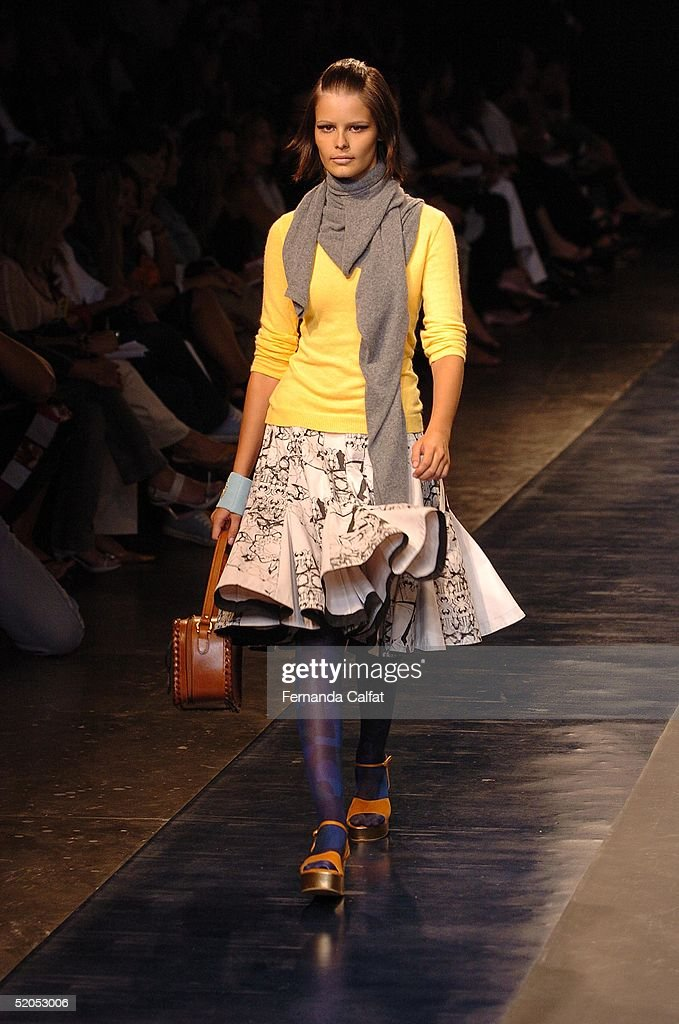 Sao Paulo Fashion Week Fall/Winter 2005 - Patachou : News Photo