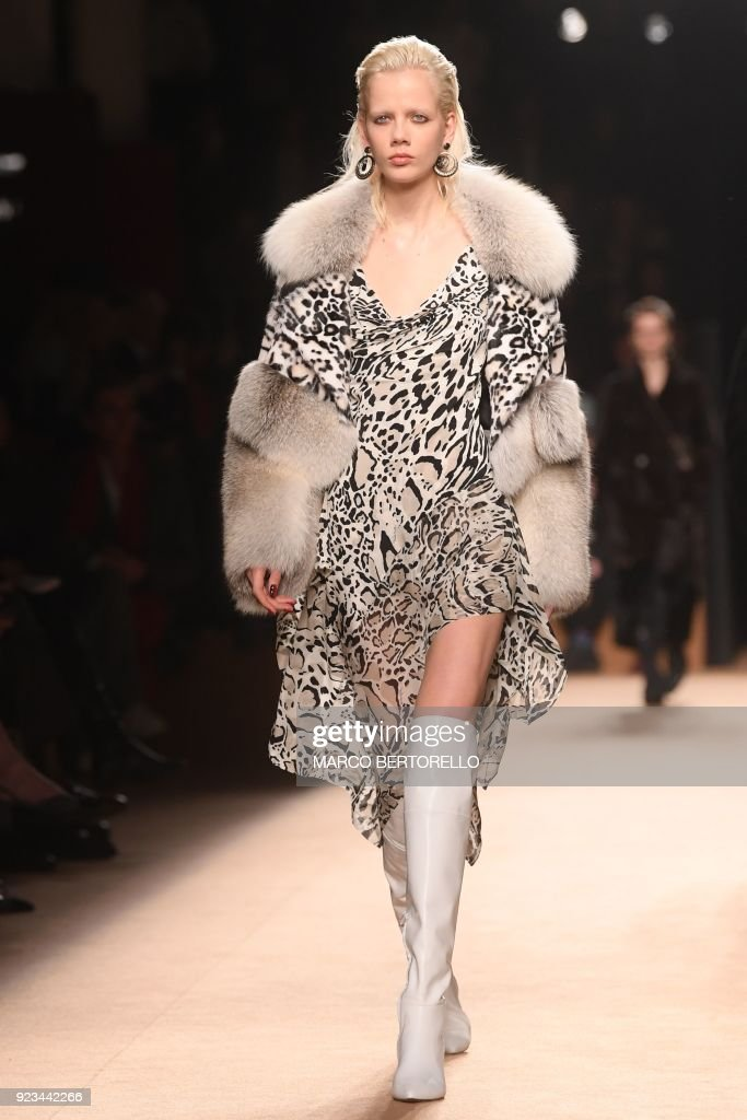 Roberto Cavalli - Runway - Milan Fashion Week Fall/Winter 2018/19 ...