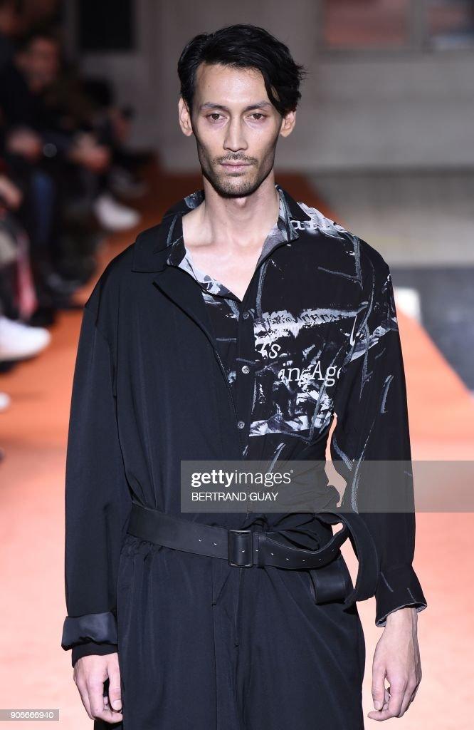 Yohji Yamamoto : Runway - Paris Fashion Week - Menswear F/W 2018-2019