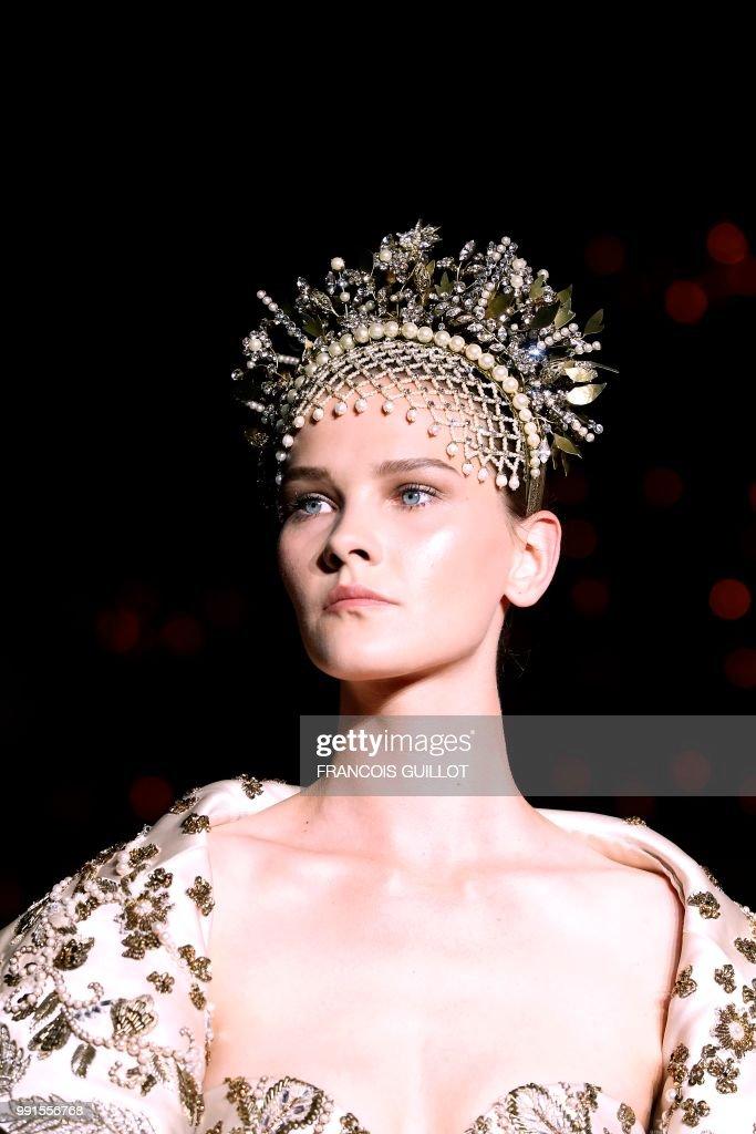 FRA: Zuhair Murad : Runway - Paris Fashion Week - Haute Couture Fall Winter 2018/2019