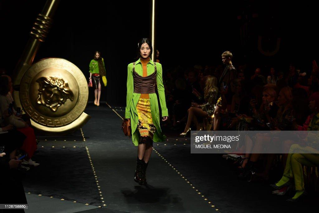 ITA: Versace - Runway: Milan Fashion Week Autumn/Winter 2019/20