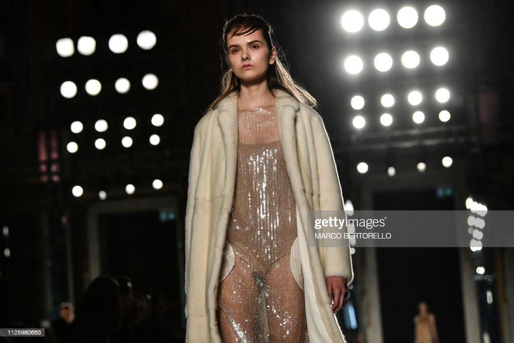 ITA: Alberto Zambelli - Runway: Milan Fashion Week Autumn/Winter 2019/20