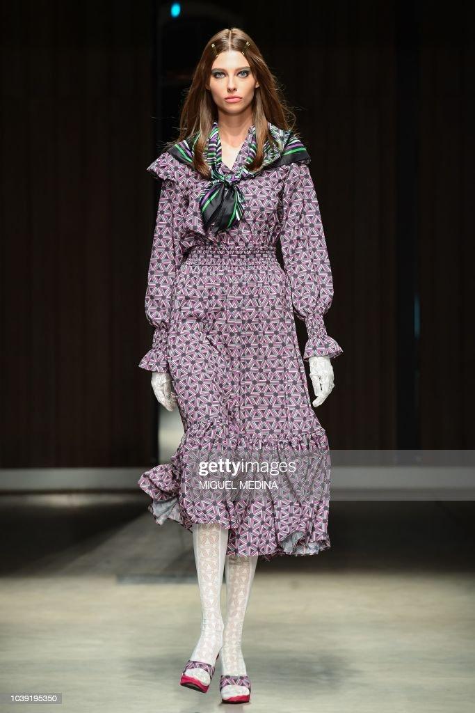 Atsushi Nakashima - Runway - Milan Fashion Week Spring/Summer 2019