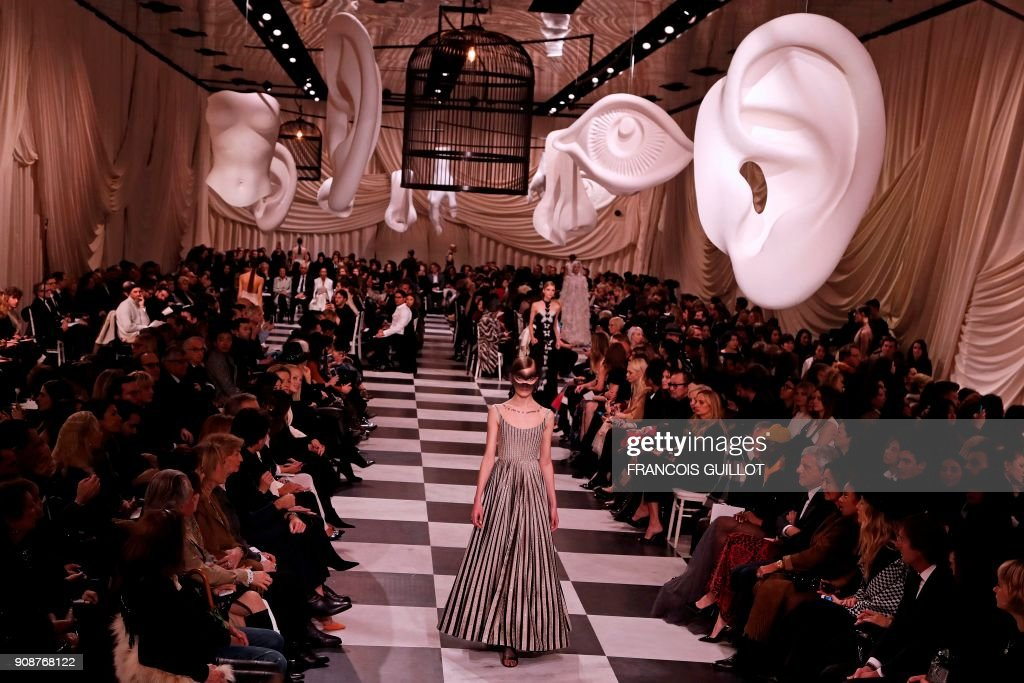 Christian Dior : Runway - Paris Fashion Week - Haute Couture Spring Summer 2018