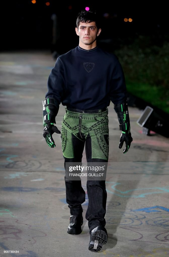 Gmbh: Runway - Paris Fashion Week - Menswear F/W 2018-2019