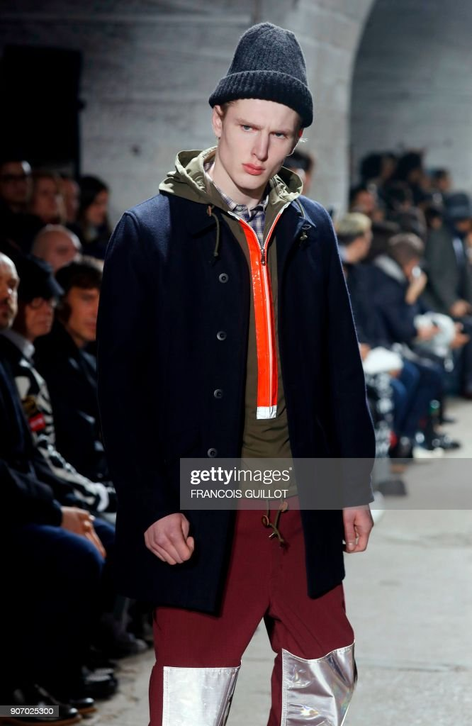 Junya Watanabe : Runway - Paris Fashion Week - Menswear F/W 2018-2019