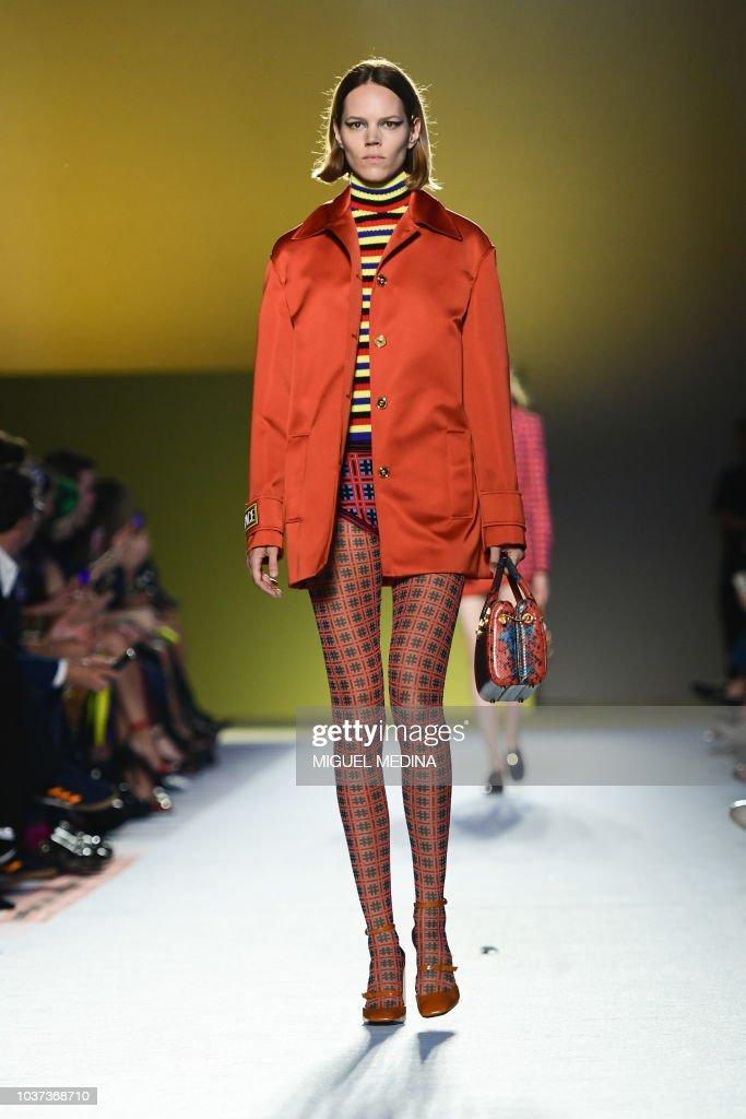 Versace - Runway - Milan Fashion Week Spring/Summer 2019