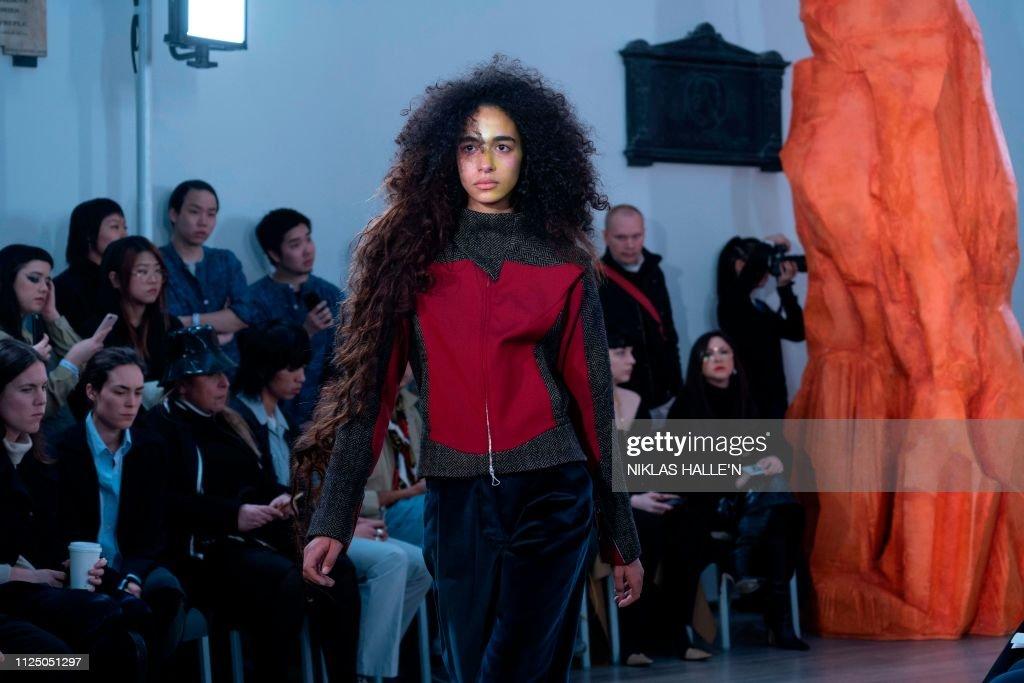 GBR: Kiko Kostadinov - Front Row - LFW February 2019